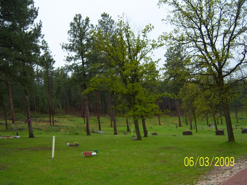 Picture 1 of two..  Keystone graveyard..